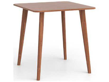Greenington Currant 36'' Square Caramelized Counter Height Table