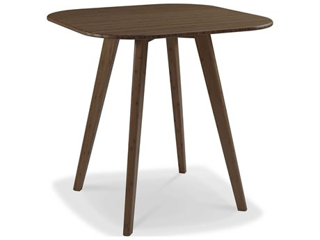 Greenington Azara Black Walnut 36'' Square Bar Height Table