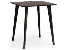 Greenington Azara 36'' Square Black Walnut Bar Height Table