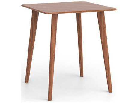 Greenington Azara 36'' Square Caramelized Bar Height Table