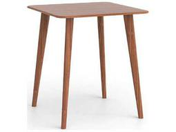 Greenington Azara 36'' Square Caramelized Bar Height Table