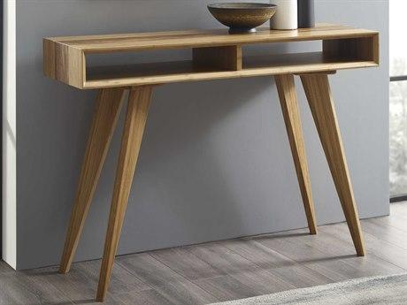 Greenington Azara Caramelized / Exotic Tiger 46'' W x 14''D Rectangular Coffee Table