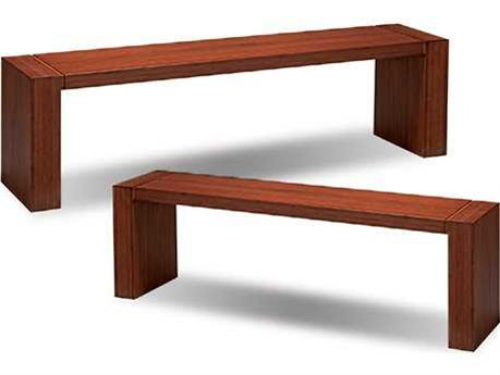 Greenington Aurora Exotic Caramelized Long Bench