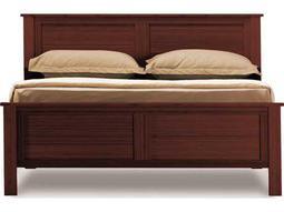 Greenington Hosta Sable Queen Panel Bed