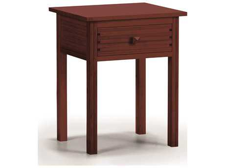 Greenington Hosta 25.5'' x 18.89'' Rectangular Sable Nightstand
