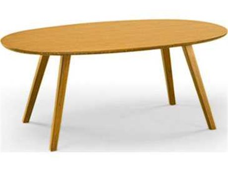 Greenington Ceres Exotic Caramelized Oval Coffee Table