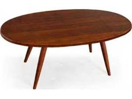 Greenington Ceres Exotic Caramelized Oval Coffee Table (OPEN BOX)