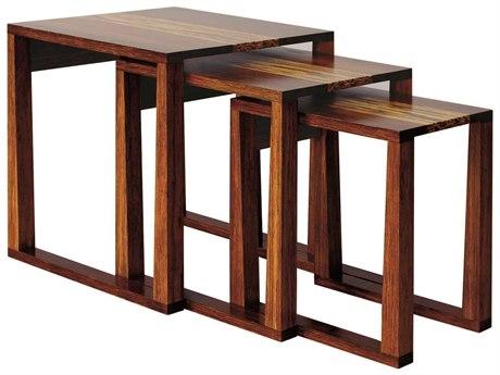 Greenington Exotic Magnolia 22'' Square Nesting Tables
