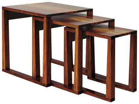 Greenington Exotic Magnolia 22'' Square Nesting Tables