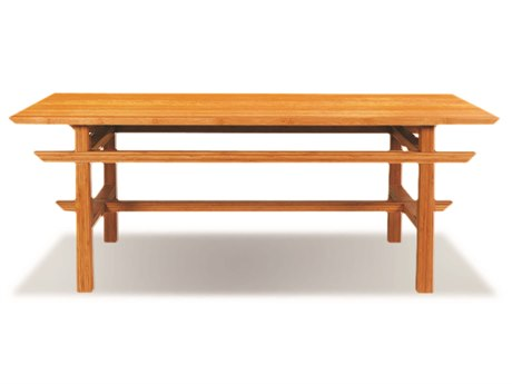 Greenington Lotus 48'' x 24'' Rectangular Caramelized Coffee Table