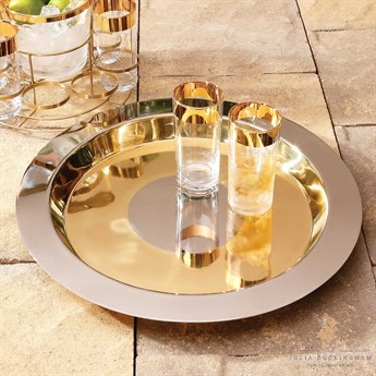 Global Views Majestic Stainless Steel Platter