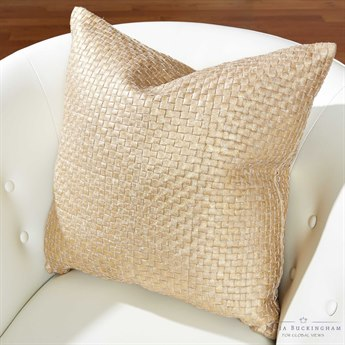 Global Views Gold Digger Pillow