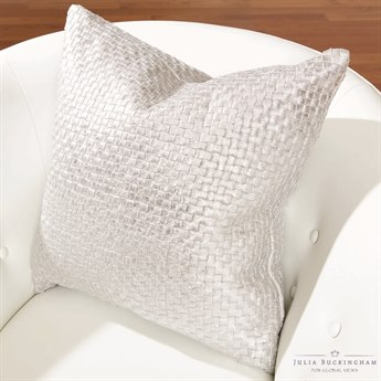 Global Views Platinum Pillow