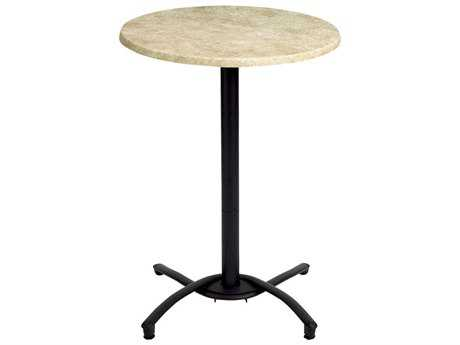 Grosfillex Classic Aluminum Rectangular Bar Height Table Base