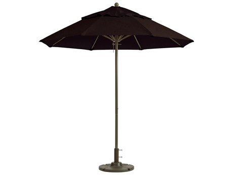 Grosfillex Windmaster Aluminum 7.5 foot Round Fiberglass Umbrella