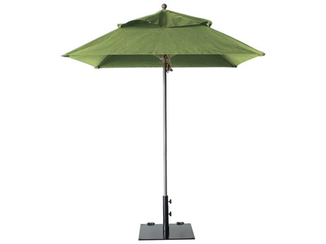 Grosfillex Windmaster Aluminum 6.5 foot Square Windmaster Fiberglass Umbrella