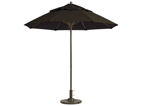 Grosfillex Windmaster Aluminum 9 foot Fiberglass Umbrella