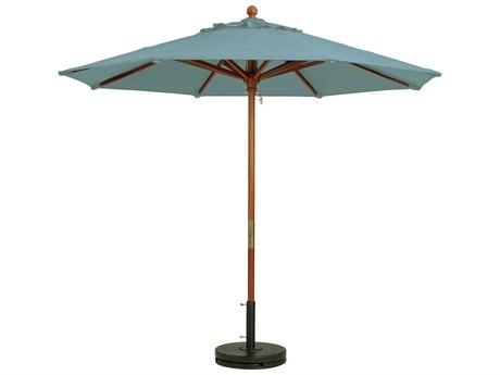 Grosfillex Umbrellas Spa Blue Umbrella