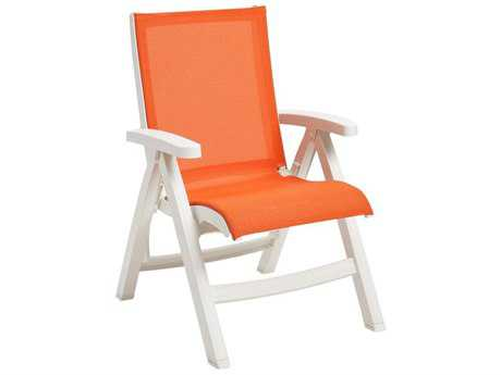 Grosfillex Belize Sling Midback Folding Chair (Sold in 2)