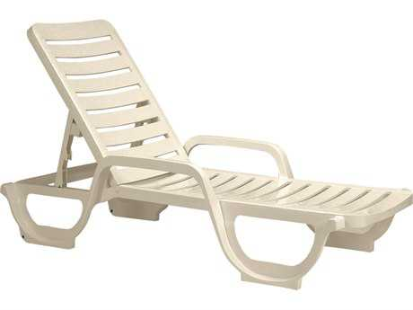 Grosfillex Bahia Adjustable Chaise (Sold in 2)