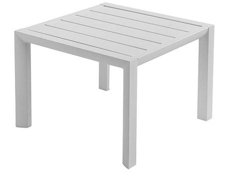 Grosfillex Sunset Aluminum 20 Square Low Table