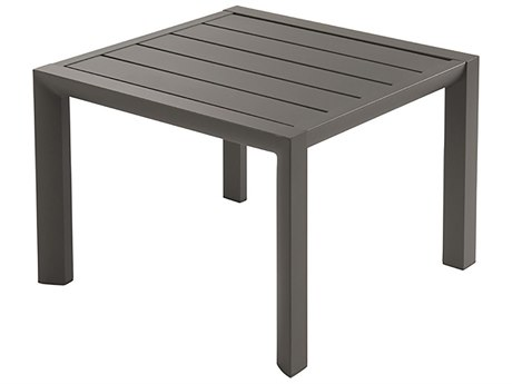 Grosfillex Sunset Aluminum 20 Square Low Table