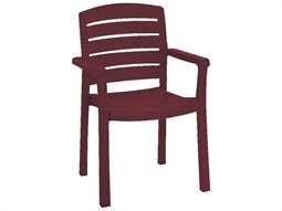 Acadia Resin Stacking Armchair (Sold in 12)