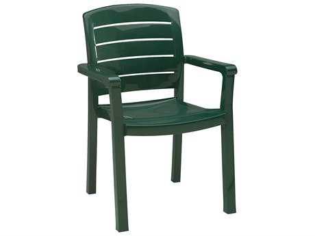 Grosfillex Acadia Stacking Arm Chair (Sold in 4)