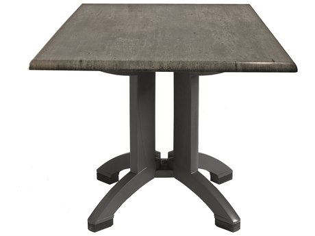 Grosfillex Atlanta Resin 32 Square Table