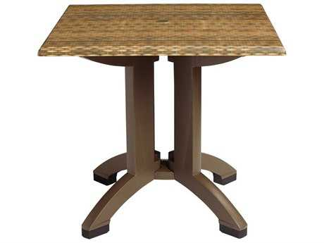 Grosfillex Sumatra 32 Square Table
