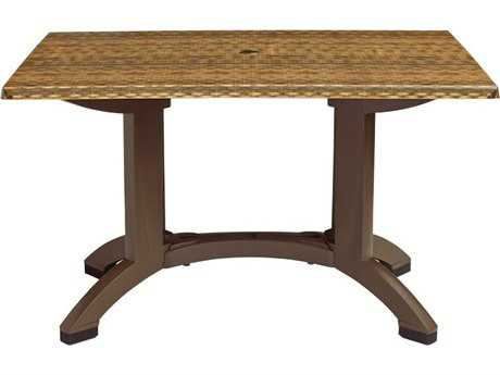 Grosfillex Sumatra 48 x 32 Rectangular Table