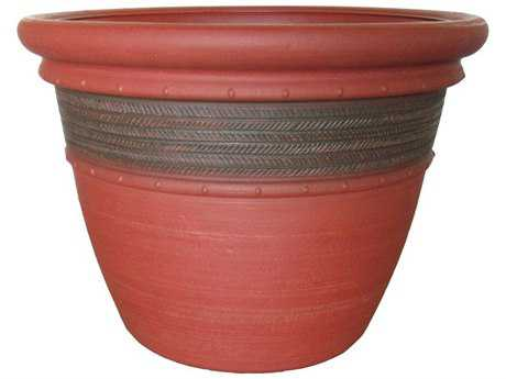 Grosfillex Cordoba 16 Round Commercial Planter (Sold in 5)