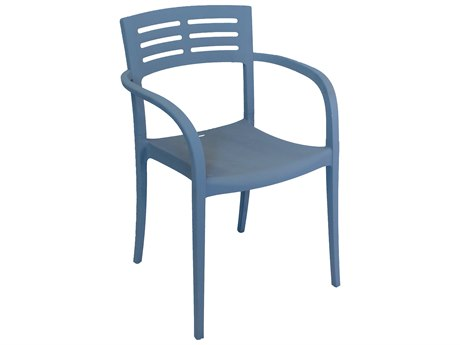 Grosfillex Vogue Stacking Armchair (Sold in 4)