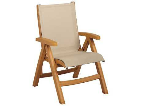 Grosfillex Belize Sling Midback Folding Chair