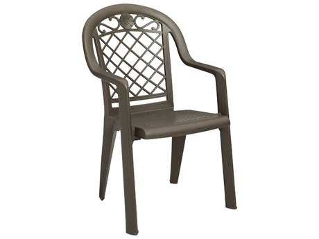 Grosfillex Savannah Stacking Arm Chair (Sold in 4)