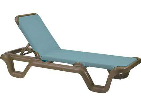 Grosfillex Marina Sling Adjustable Chaise (Sold in 2)