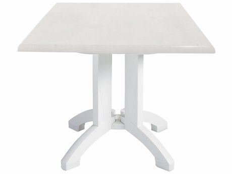 Grosfillex Atlanta Resin 36 Square Table