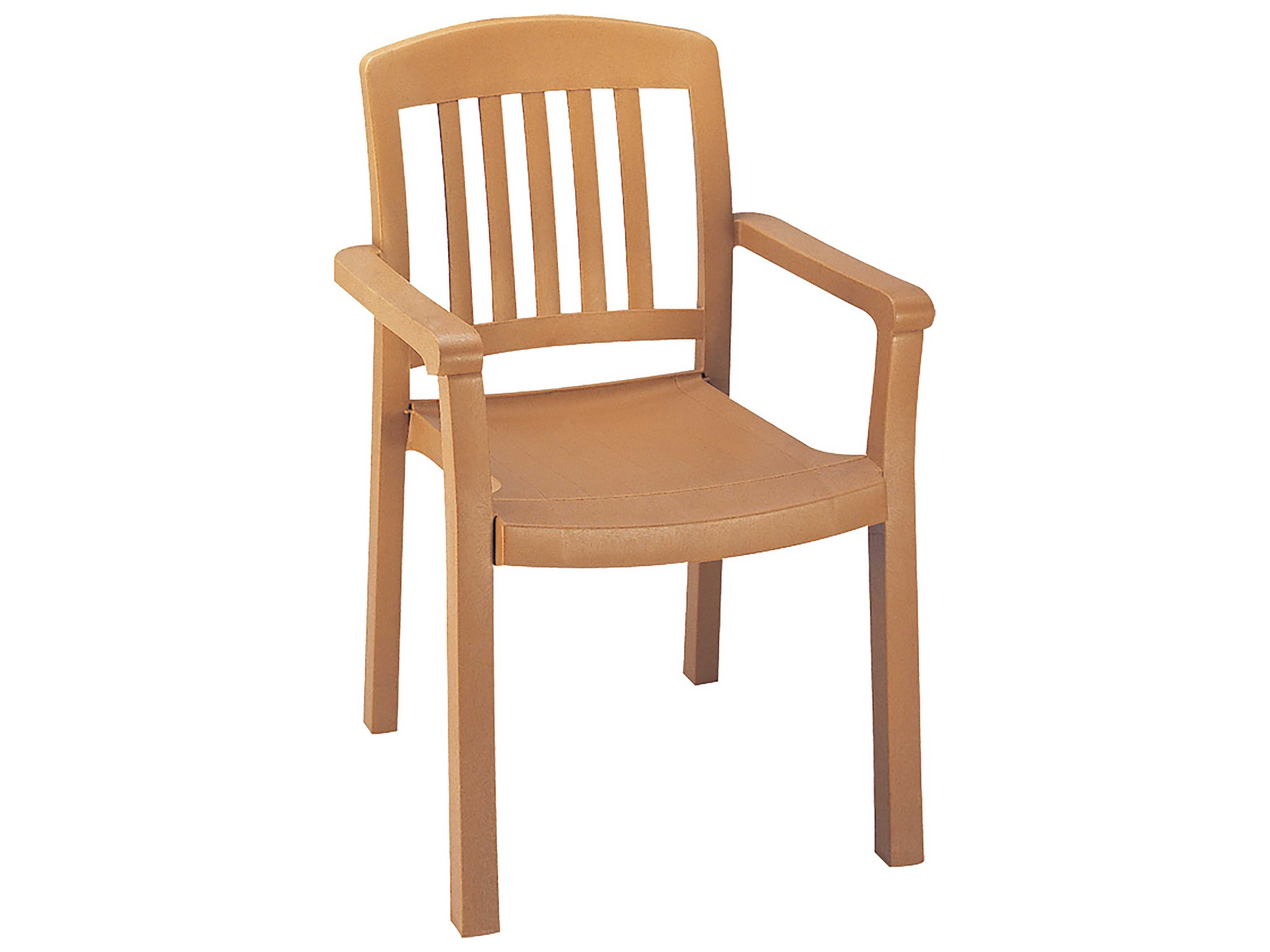 Grosfillex atlantic classic stacking arm chair sold in 4 us442008 - Atlantic shopping dining chairs ...