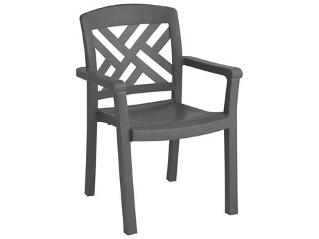 Grosfillex Sanibel Stacking Armchair (Sold in 4)