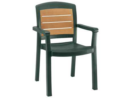 Grosfillex Aquaba Classic Stacking Arm Chair (Sold in 4)