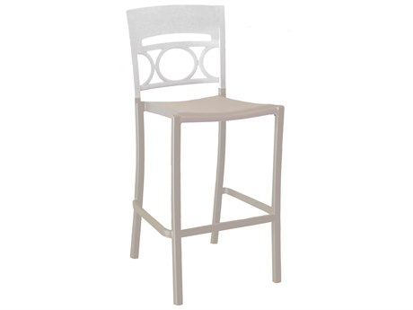 Grosfillex Moon Stacking Armless Barstool (Sold in 2)