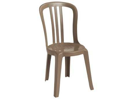 Grosfillex Miami Bistro Stacking Side Chair (Sold in 4)