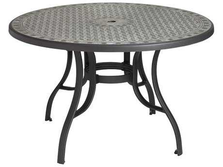 Grosfillex Cordoba Resin 48 Round Dining Tables