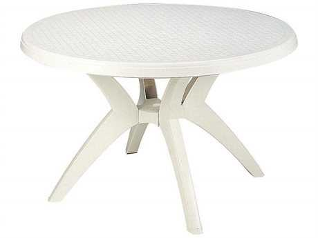 Grosfillex Ibiza Resin 46 Round Pedestal Table