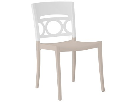 Grosfillex Moon Stacking Sidechair (Sold in 4)