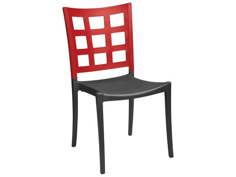 Grosfillex Plazza Aluminum Stacking Chair (Sold in 4)
