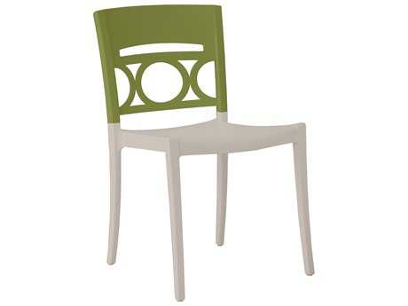 Grosfillex Moon Stacking Chair (Sold in 4)