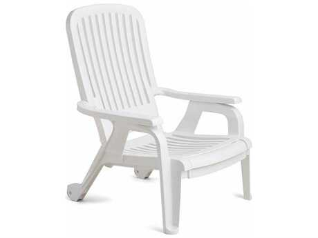 Grosfillex Bahia Stacking Deck Chair (Sold in 2)