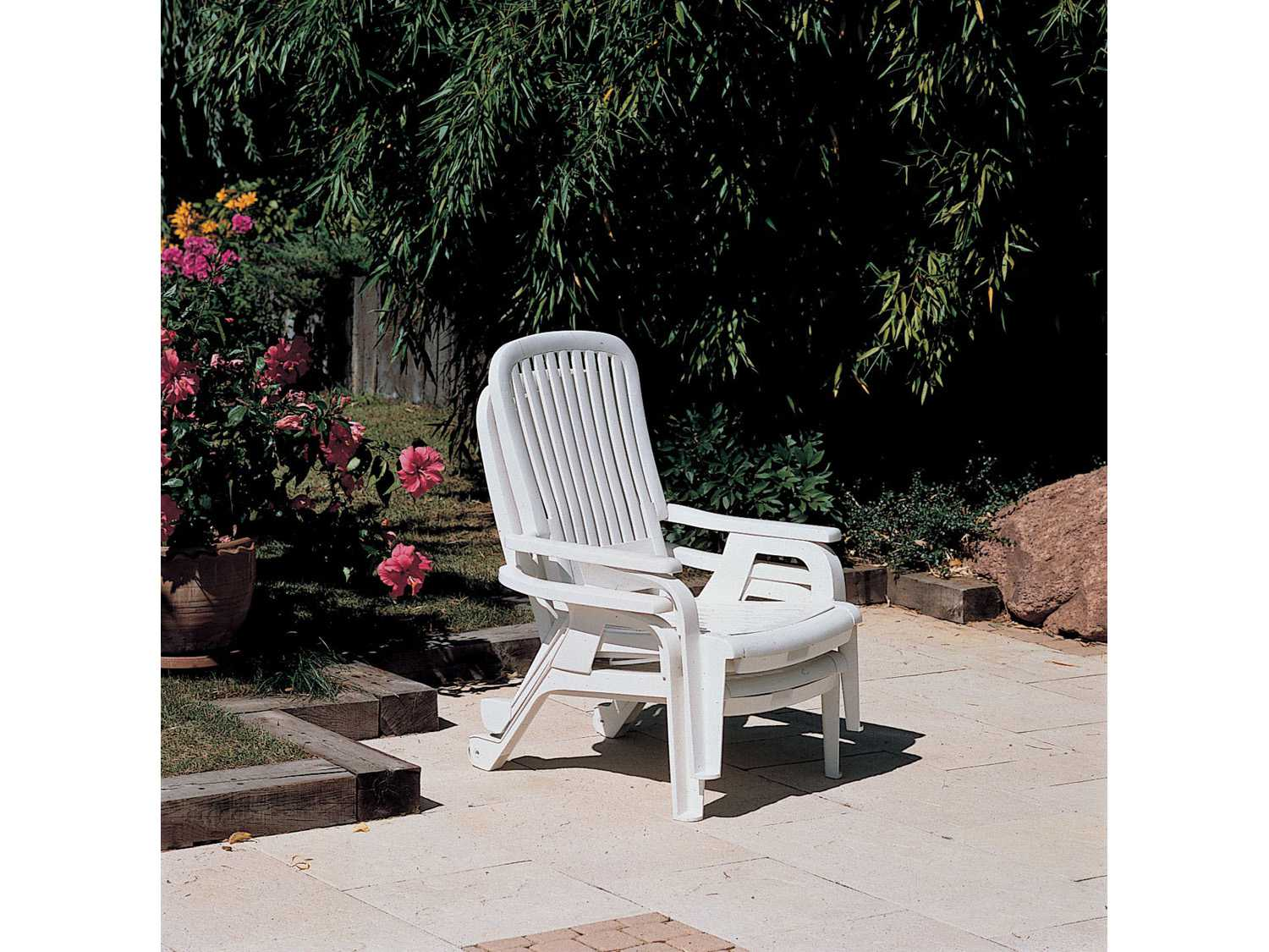 Grosfillex Bahia Stacking Deck Chair Sold In 2 Gxus658004