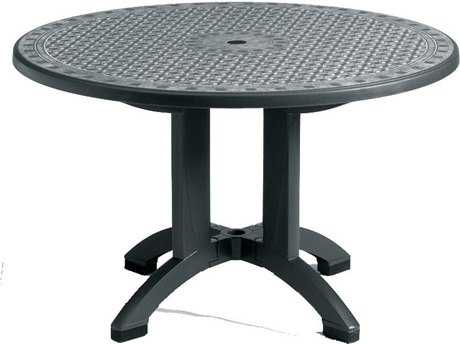 Grosfillex Toledo 48 Round Pedestal Table